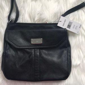 NWT Nine West Black Crossbody Bag